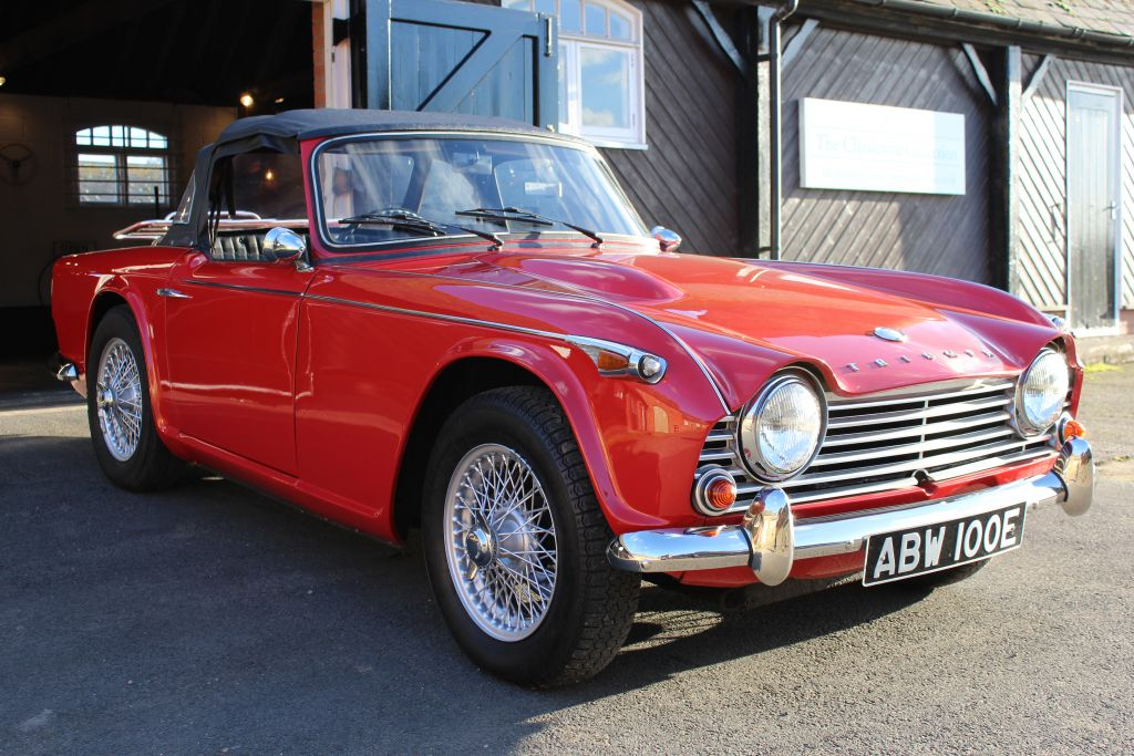 Triumph TR4A 1967 IRS SOLD!! -