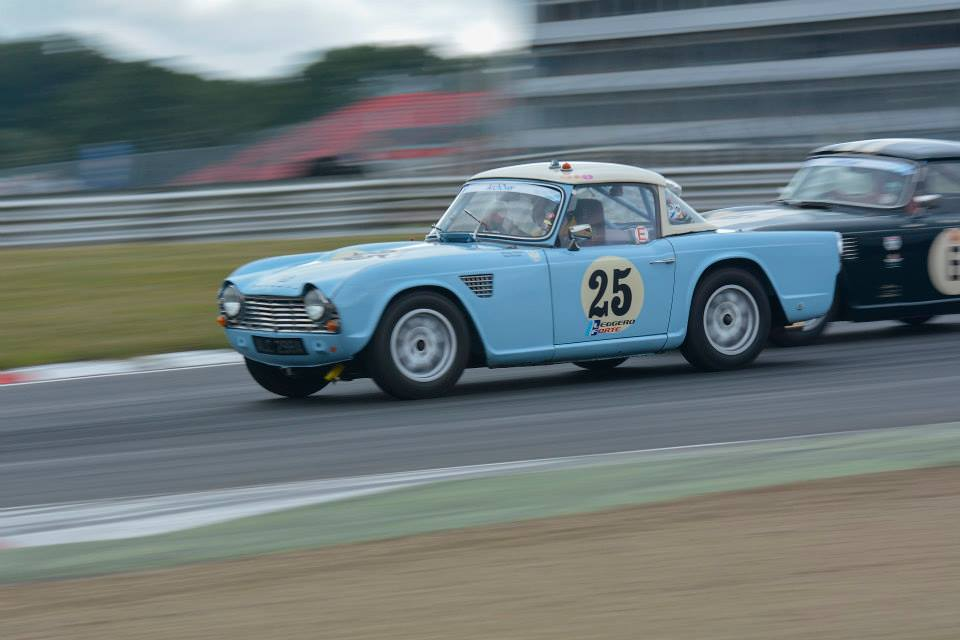 Triumph Tr4 Fia Race Car 6500000